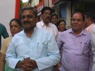 बीजेपी चुनावी ऑफिस का उद्घाटन, 'आप' सरकार पर कसा ताना