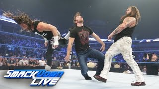 Dolph Ziggler superkicks Dean Ambrose during Bray Wyatt altercation: SmackDown Live, Aug. 9, 2016