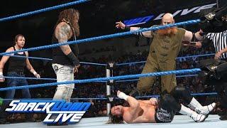 Dean Ambrose & Dolph Ziggler vs. Bray Wyatt & Erick Rowan: SmackDown Live, Aug. 9, 2016