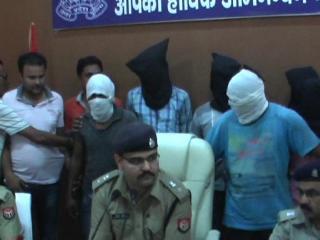 बुलंदशहर पुलिस को बड़ी सफलता, 10 लुटेरों को किया गिरफ्तार