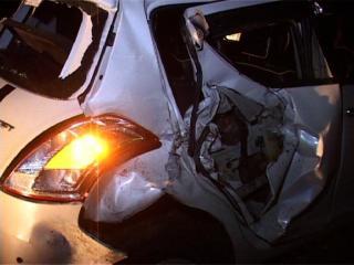 स्मृति ईरानी के काफिले की गाड़ी से नहीं हुई किसी की टक्कर-एसएसपी