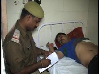 गिरफ्तार करने गई पुलिस टीम पर बदमाशों ने किया हमला, दरोगा घायल