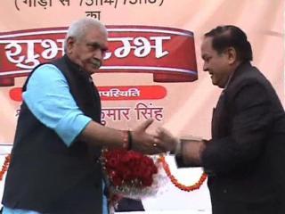 रेल राज्यमंत्री ने दी गाजीपुर को ट्रेन  की सौगात