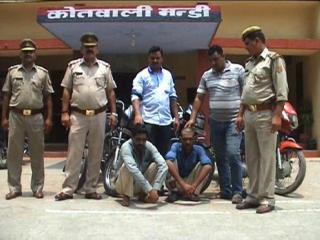 सहारनपुर पुलिस को बड़ी सफलता, गिरफ्तार किए बाइक चोर