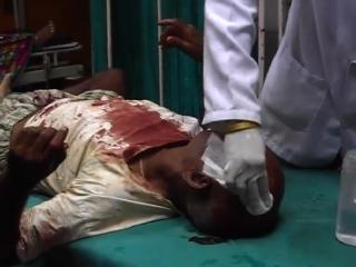 सपा नेता की गुंडई का नंगा नाच, ग्रामीणों को जमकर पीटा