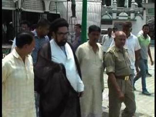 शिया धर्मगुरु कल्वे जव्वाद ने आजम खान और अब्दुल्ला बुखारी पर बोला हमला