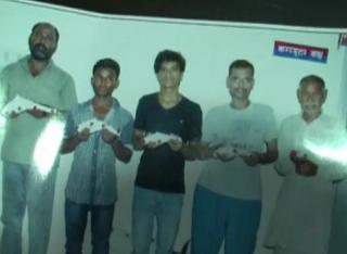 अवैध असलहा फैक्ट्री का भंड़ाफोड़, 5 अभियुक्त गिरफ्तार