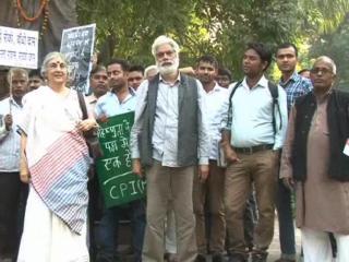 Intolerance ke khilaf leftest ka pradrshan