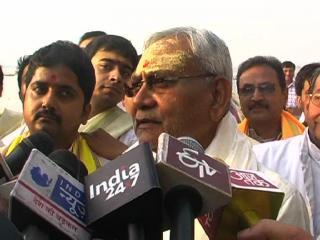 गंगा को सिर्फ निर्मल ही नहीं अविरल बनाना भी जरुरी: नीतीश कुमार
