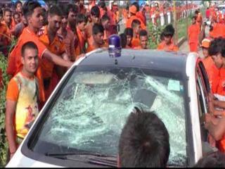 कांवडिए बवाल : कप्तानगंज थानाध्यक्ष समेत 6 पुलिस कर्मियों निलंबित