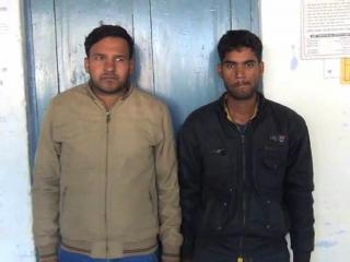 आधा दर्जन लूट करने वाले दो शातिर गिरफ्तार