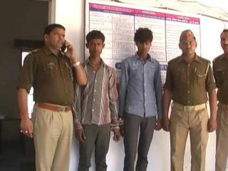पुलिस ने किया  लूट का खुलासा, 2 आरोपी गिरफ्तार
