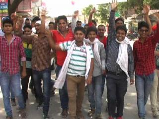 बीजेपी की कार्यकारिणी बैठक पर कांग्रेस का शहर बंद