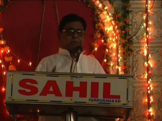 सपा नेता के विवादित बोल, मंच से ही मांगी भगवान राम की डिग्री