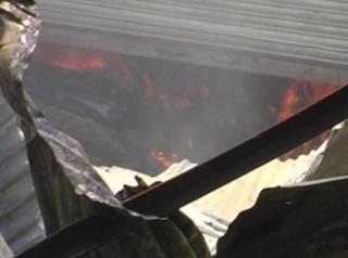 यूपी में आग ने बरपाया कहर, लाखों का नुकसान