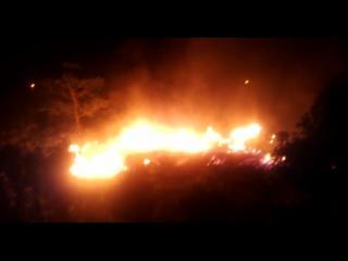 पटाखों की चिंगारी ने जला डाली पुलिस लाइन