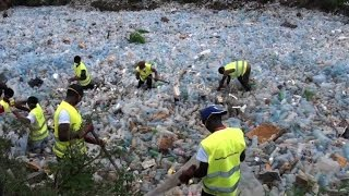 Cameroon football legend spearheads recycling project
