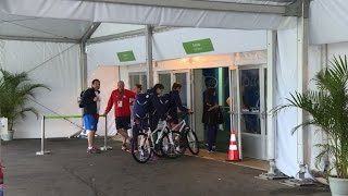 At Olympic village, athletes unfazed by security concerns