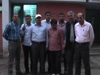 vigilence vibhag ka chaapa, rishwat lete patwari kabu