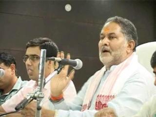 कष्ट निवारण की बैठक में रामबिलास शर्मा के आक्रमक तेवर