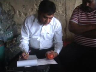 खाद्य सुरक्षा विभाग की टीम ने पेयजल व पान मसाला के भरे सैंपल