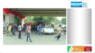 CM सिटी में ITI कॉलेज के छात्र कर रहे हैं मौत का सफर