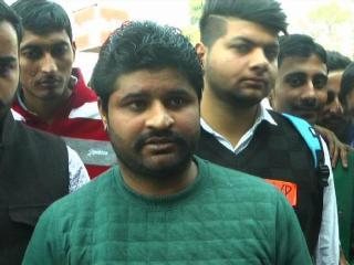 ABVP  के छात्र संगठन ने फूंका राहुल गांधी का पुतला