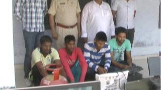 स्कूल में चोरी करने वाले 4 युवक गिरफ्तार