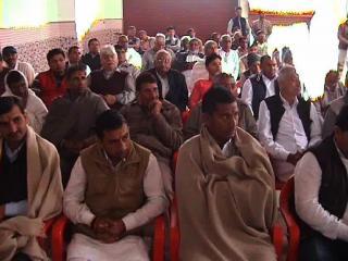 रामचन्द्र जांगड़ा के लिए आयोजित किया गया अभिनंदन समारोह