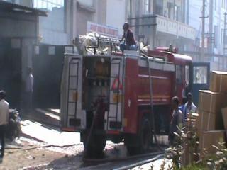 सोनीपत में दवा कंपनी में लगी भयंकर आग
