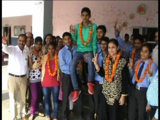पलवल जिले से जीवन ज्योति स्कूल के बच्चों ने किया टॉप