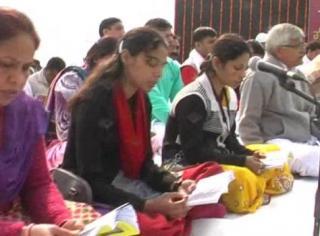 गीता महोत्सव के मौके पर 1100 छात्रों ने बोले गीता के श्लोक