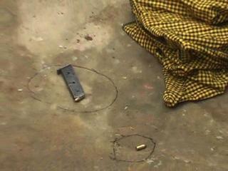 घर में मिली मां-बेटे की खून से लथपथ लाश, हत्यारे फरार