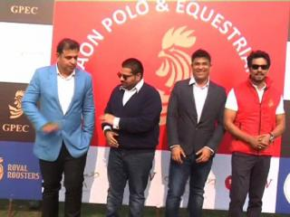 गुडगांव में विकलांग घोड़ों की सहायता के लिए करवाया गया पोलो मैच