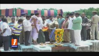 Jalagam Venkat Rao Inspects Ponds in Khammam Dist | iNews