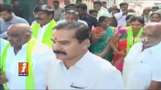 Deputy Speaker Padma Devender Reddy Plants Trees in Hanamkonda | Haritha Haram | iNews