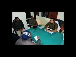 पुलिस एनकाउंटर में एक इनामी बदमाश ढेर, 6 काबू