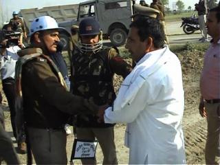 किसानों की हिमाकत, एक्शन में पुलिस, 50 गिरफ्तार