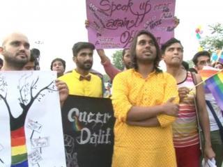 धारा 377 के खिलाफ LGBTQ लोगों ने मनाया क्वियर गर्वोत्सव