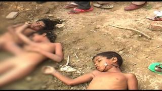 तालाब में डूबने से तीन मासूम बच्चों की मौत