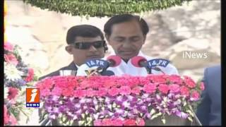 CM KCR Flag Hoisting At Golconda Fort | 70th Independence Day | iNews