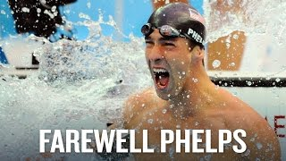 Farewell to the greatest swimmer ever, Michael Phelps - Rio Olympics 2016