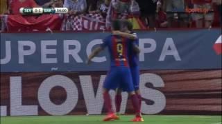 Sevilla - Barcelona 0-2 - Spain Super Cup 2016 -1st Game