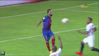 Sevilla 0-2 Barcelona - Super Cup - All Goals - Full Screen