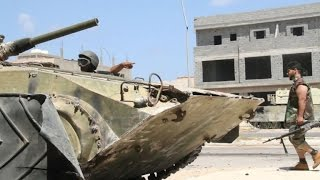 Libya forces press assault on last IS positions in Sirte