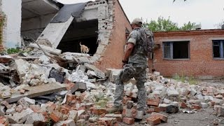 Violence flares in Ukraine flashpoint after Crimea claims