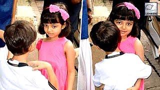 Aishwarya Rai's Aaradhya HUGS Aamir Khan's Son Azad