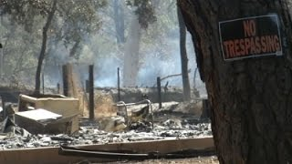 Wildfire Destroys Homes in Northern Calif.