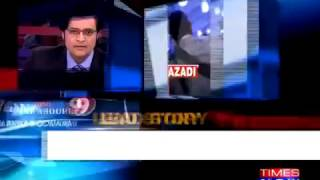 Arnab Goswami Exposing the Double Standards of Amnesty India regarding Human rights violations