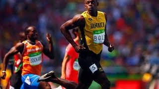 Usain Bolt Wins Men's 200m Heat - Qualified for Rio olympics 200m 2016 semi - Finished in 20.29sec